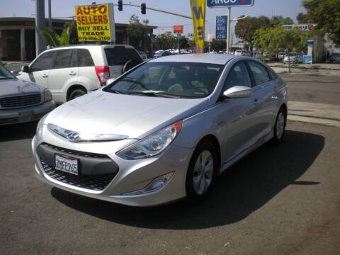 2015 Hyundai Sonata Hybrid for sale at AUTO SELLERS INC in San Diego CA