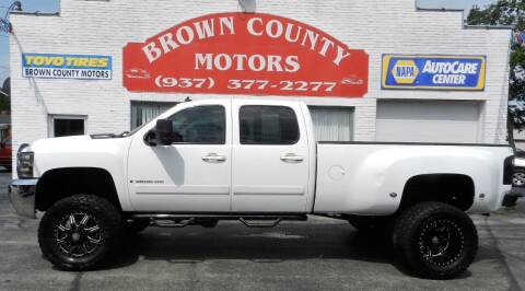 2008 Chevrolet Silverado 3500HD for sale at Brown County Motors in Russellville OH