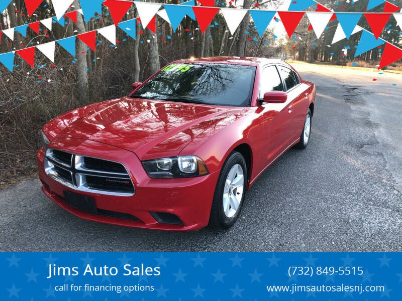 2013 Dodge Charger for sale at Jims Auto Sales in Lakehurst NJ