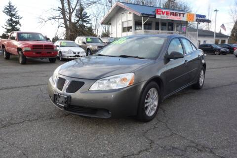 2005 Pontiac G6 for sale at Leavitt Auto Sales and Used Car City in Everett WA