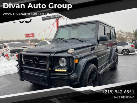 2013 Mercedes-Benz G-Class for sale at Divan Auto Group in Feasterville Trevose PA