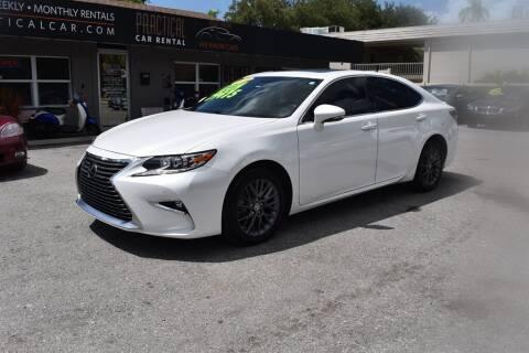 2018 Lexus ES 350 for sale at DeWitt Motor Sales in Sarasota FL