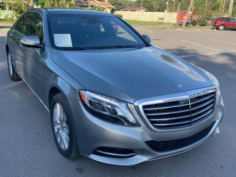 2015 Mercedes-Benz S-Class for sale at Consumer Auto Credit in Tampa FL