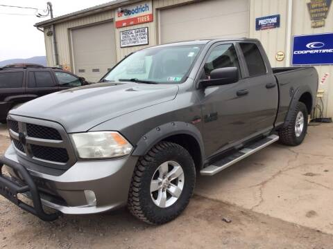 2013 RAM Ram Pickup 1500 for sale at Troys Auto Sales in Dornsife PA