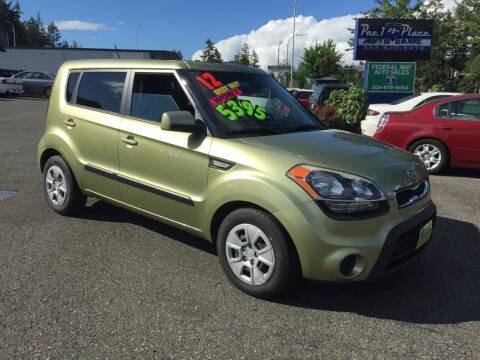 2012 Kia Soul for sale at Federal Way Auto Sales in Federal Way WA