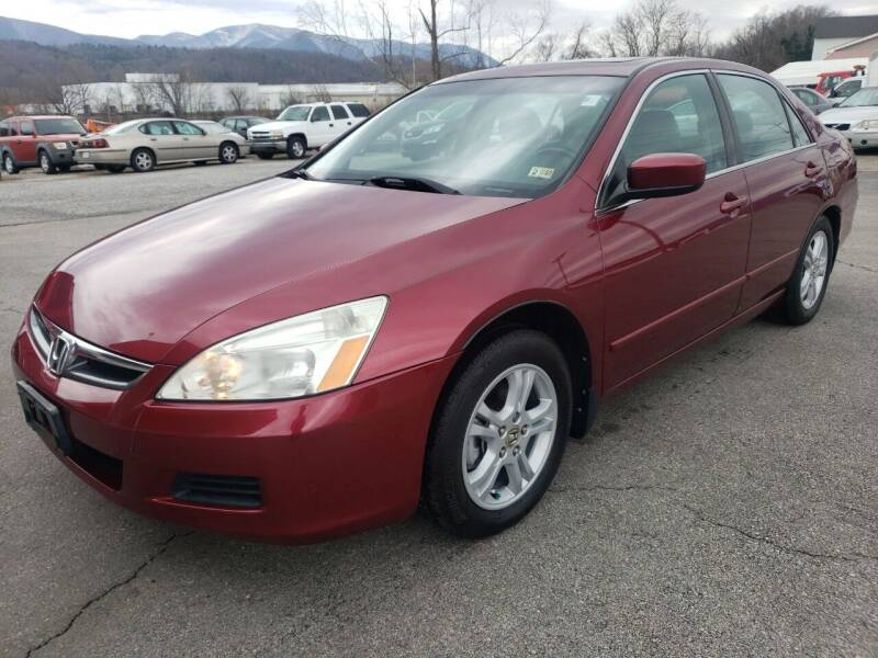 2006 Honda Accord for sale at Salem Auto Sales in Salem VA
