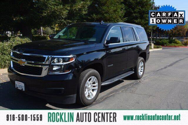 2020 Chevrolet Tahoe for sale at Rocklin Auto Center in Rocklin CA