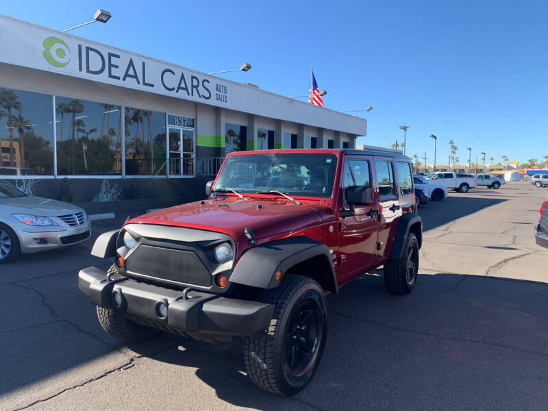 2012 Jeep Wrangler Unlimited for sale at Ideal Cars Broadway in Mesa AZ