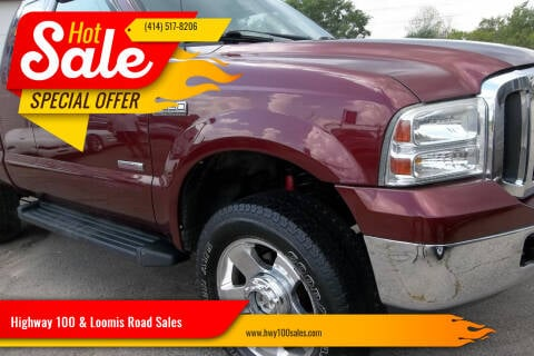2007 Ford F-350 Super Duty for sale at Highway 100 & Loomis Road Sales in Franklin WI