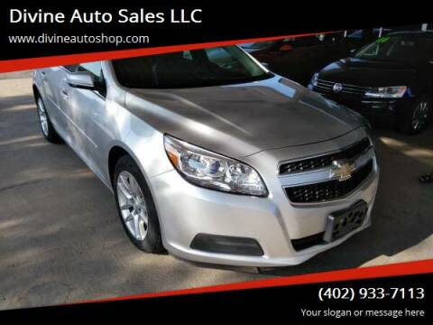 2013 Chevrolet Malibu for sale at Divine Auto Sales LLC in Omaha NE
