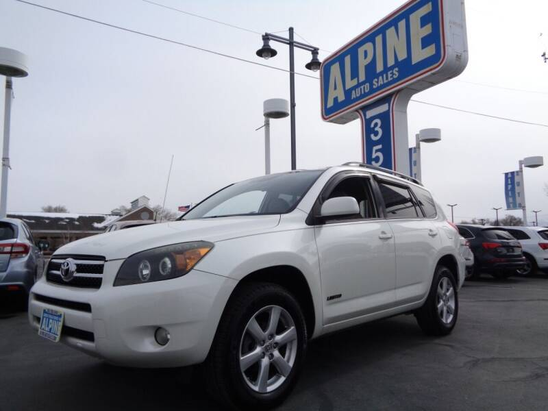 2008 Toyota RAV4 for sale at Alpine Auto Sales in Salt Lake City UT