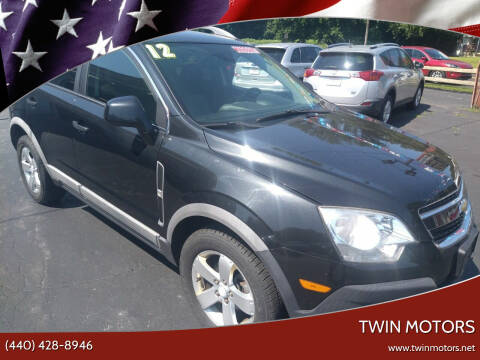 2012 Chevrolet Captiva Sport for sale at TWIN MOTORS in Madison OH