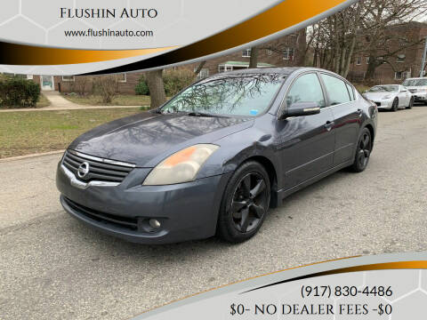 2007 Nissan Altima for sale at FLUSHIN AUTO in Flushing NY