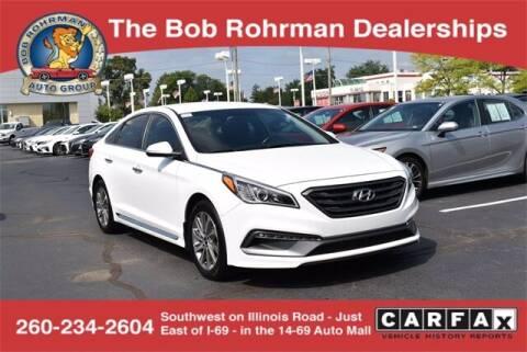 2016 Hyundai Sonata for sale at BOB ROHRMAN FORT WAYNE TOYOTA in Fort Wayne IN