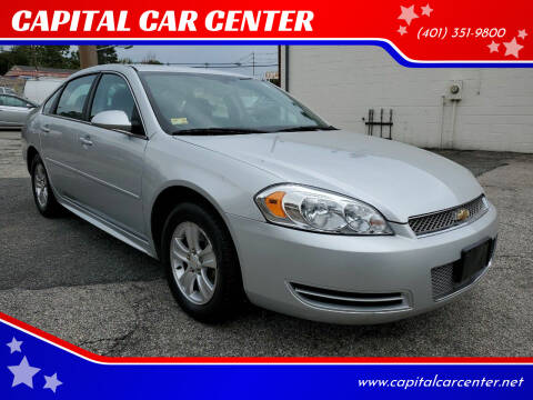 2012 Chevrolet Impala for sale at CAPITAL CAR CENTER in Providence RI