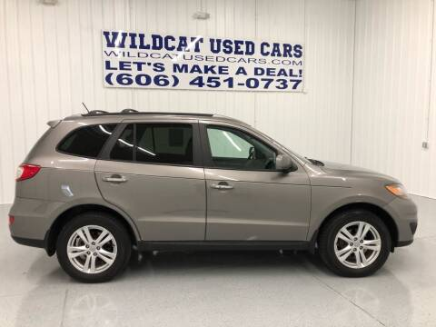 2012 Hyundai Santa Fe for sale at Wildcat Used Cars in Somerset KY