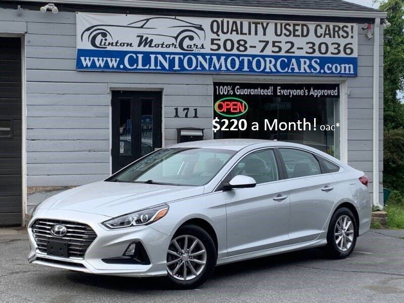 2018 Hyundai Sonata for sale at Clinton MotorCars in Shrewsbury MA