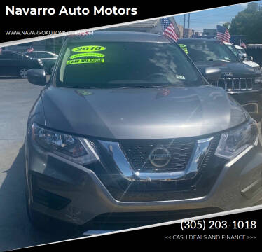 2018 Nissan Rogue for sale at Navarro Auto Motors in Hialeah FL