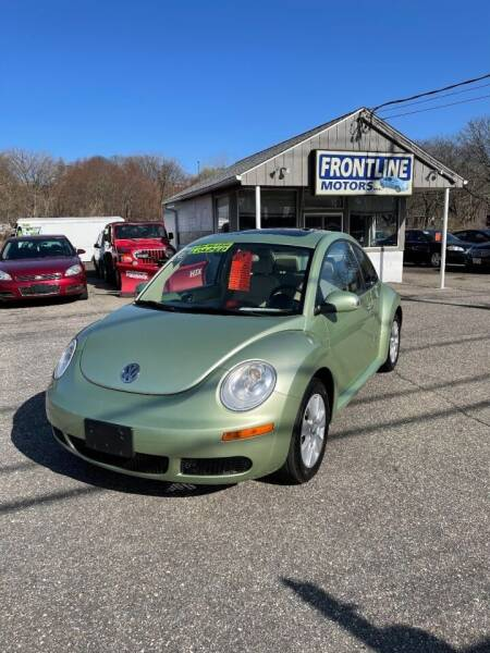 2008 Volkswagen New Beetle for sale at Frontline Motors Inc in Chicopee MA