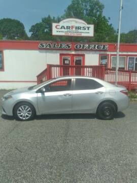 2016 Toyota Corolla for sale at CARFIRST ABERDEEN in Aberdeen MD