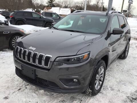 2020 Jeep Cherokee for sale at One Price Auto in Mount Clemens MI