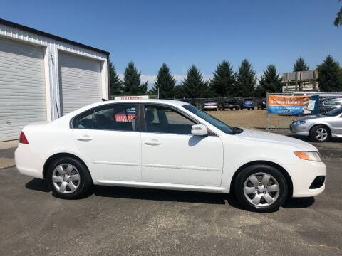 2009 Kia Optima for sale at McMinnville Auto Sales LLC in Mcminnville OR