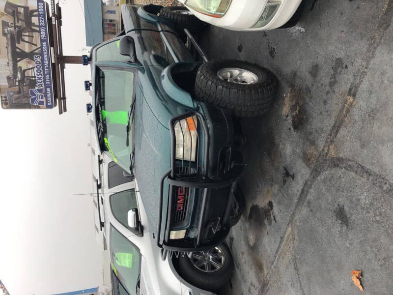 1998 GMC Sonoma for sale at American Auto Group LLC in Saginaw MI