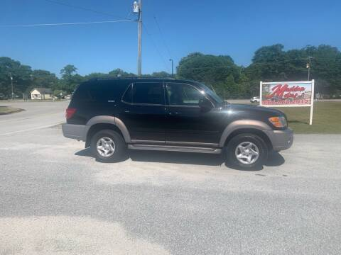 2002 Toyota Sequoia for sale at Madden Motors LLC in Iva SC