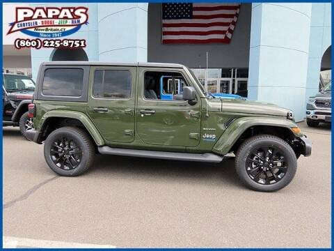 2021 Jeep Wrangler 4xe for sale at Papas Chrysler Dodge Jeep Ram in New Britain CT