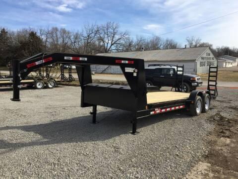"""2020 GRTrailers 82""""x22' 14k Gooseneck for sale at Bailey Auto in Pomona KS"""