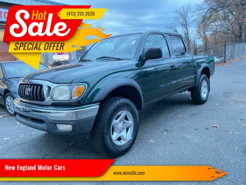 2003 Toyota Tacoma for sale at New England Motor Cars in Springfield MA