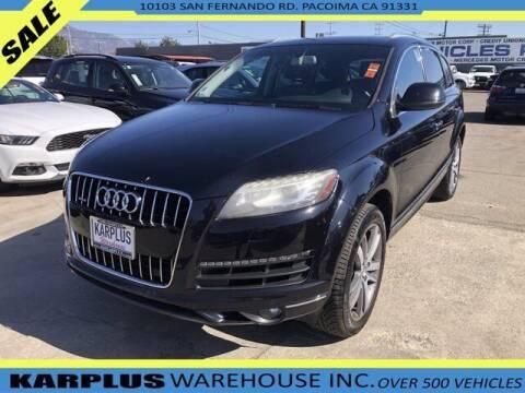 2013 Audi Q7 for sale at Karplus Warehouse in Pacoima CA