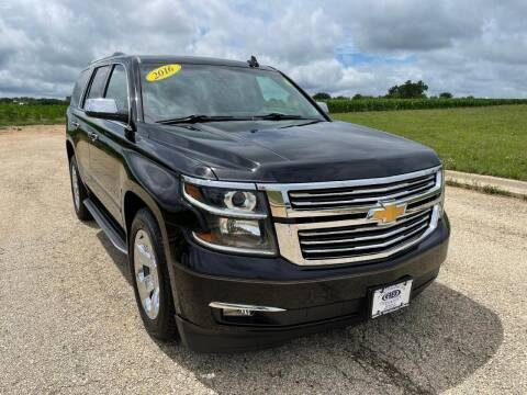 2016 Chevrolet Tahoe for sale at Alan Browne Chevy in Genoa IL