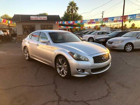 2011 Infiniti M37 for sale at Valley Auto Center in Phoenix AZ