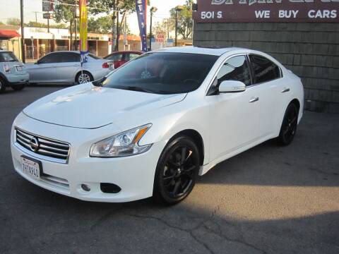 2014 Nissan Maxima for sale at SPRINGFIELD BROTHERS LLC in Fullerton CA