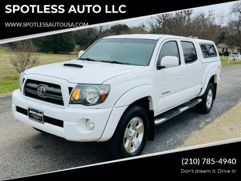 2010 Toyota Tacoma for sale at SPOTLESS AUTO LLC in San Antonio TX