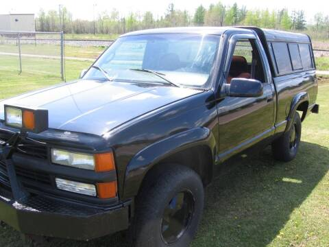 1997 GMC Sierra 1500 for sale at SCHUMACHER AUTO SALES & SERVICE in Park Falls WI