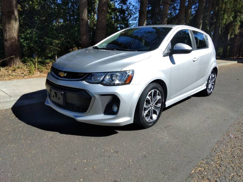 2017 Chevrolet Sonic for sale at PDX Car People LLC in Milwaukie OR