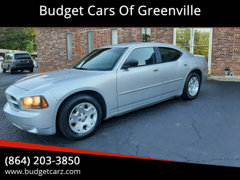 2006 Dodge Charger for sale at Budget Cars Of Greenville in Greenville SC