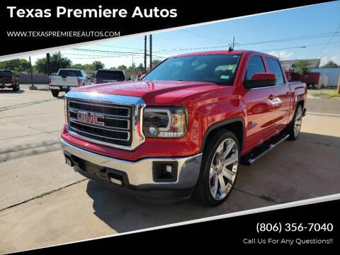2014 GMC Sierra 1500 for sale at Texas Premiere Autos in Amarillo TX
