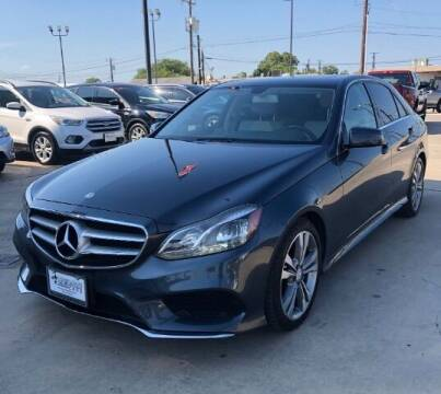 2014 Mercedes-Benz E-Class for sale at Eurospeed International in San Antonio TX
