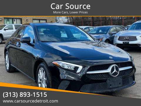 2020 Mercedes-Benz A-Class for sale at Car Source in Detroit MI