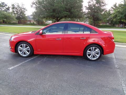 2014 Chevrolet Cruze for sale at BALKCUM AUTO INC in Wilmington NC