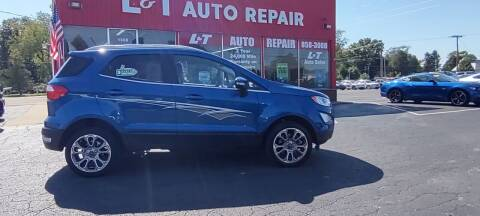 2018 Ford EcoSport for sale at L&T Auto Sales in Three Rivers MI