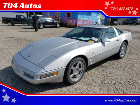 1996 Chevrolet Corvette for sale at 704 Autos in Statesville NC