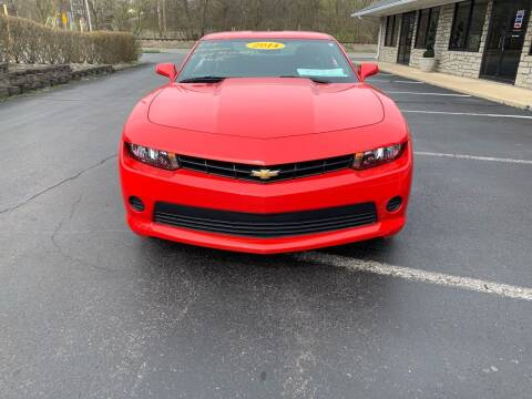 2014 Chevrolet Camaro for sale at Clarks Auto Sales in Connersville IN