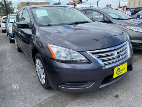 2014 Nissan Sentra for sale at New Wave Auto Brokers & Sales in Denver CO