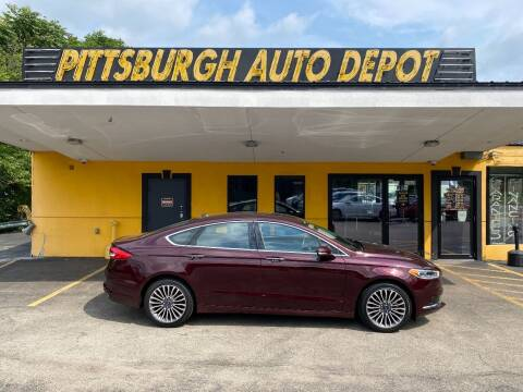 2018 Ford Fusion for sale at Pittsburgh Auto Depot in Pittsburgh PA