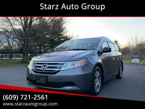 2012 Honda Odyssey for sale at Starz Auto Group in Delran NJ