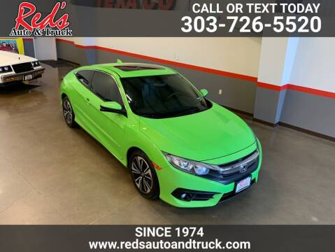 2018 Honda Civic for sale at Red's Auto and Truck in Longmont CO